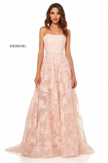 Rochie Sherri Hill 52477 Rosa