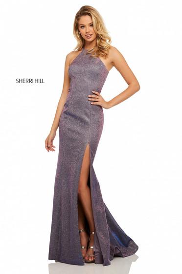 Rochie Sherri Hill 52481 Purple