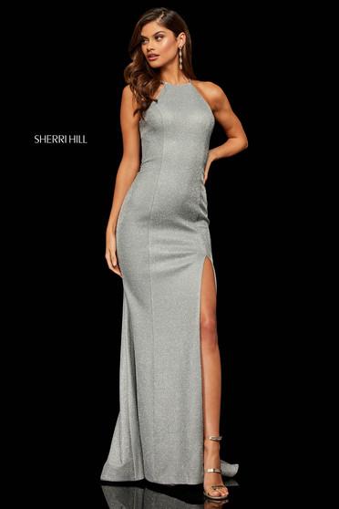 Rochie Sherri Hill 52481 Silver