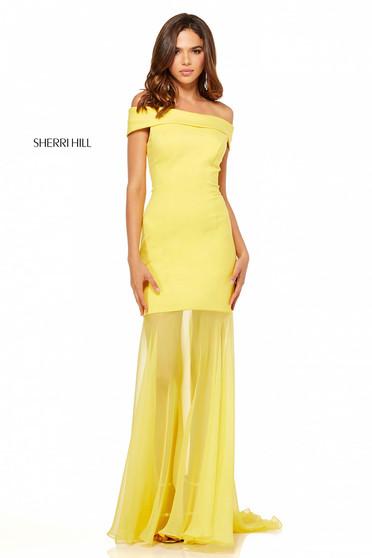 Rochie Sherri Hill 52482 Yellow