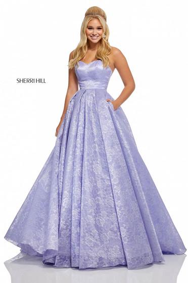 Rochie Sherri Hill 52500 Lila