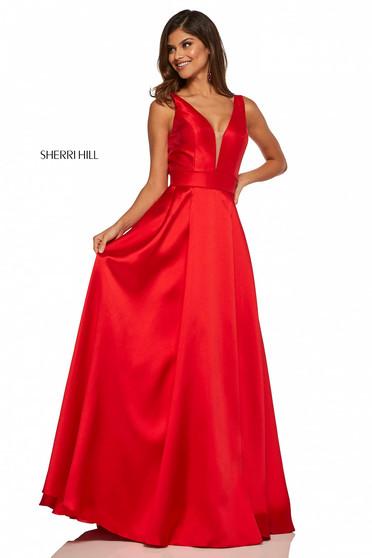Rochie Sherri Hill 52502 Red