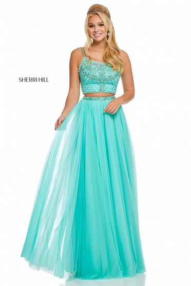 Rochie Sherri Hill 52516 Turquoise