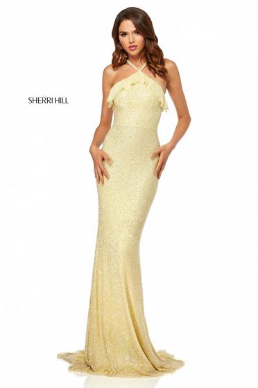 Rochie Sherri Hill 52526 Yellow