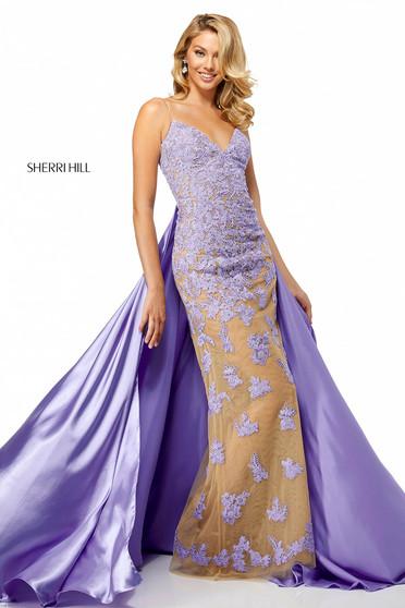 Rochie Sherri Hill 52538 Lila