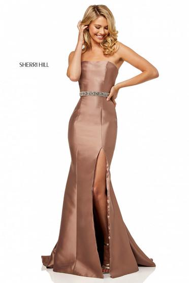 Rochie Sherri Hill 52541 Brown