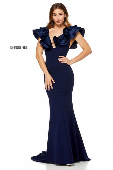 Rochie Sherri Hill 52550 Blue