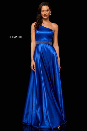 Rochie Sherri Hill 52565 Blue