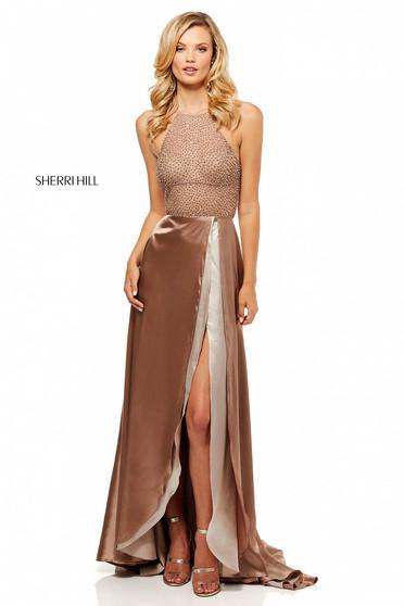 Rochie Sherri Hill 52570 Brown