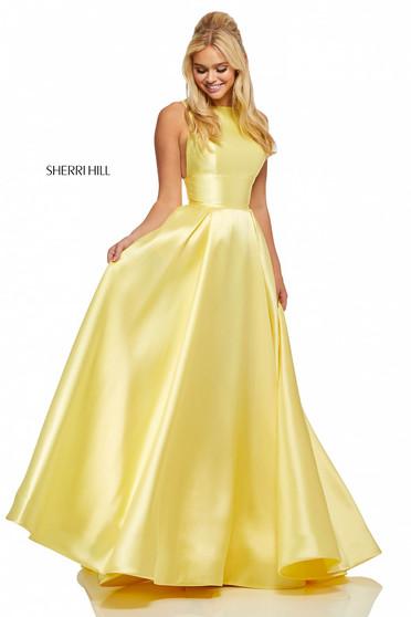 Rochie Sherri Hill 52572 Yellow
