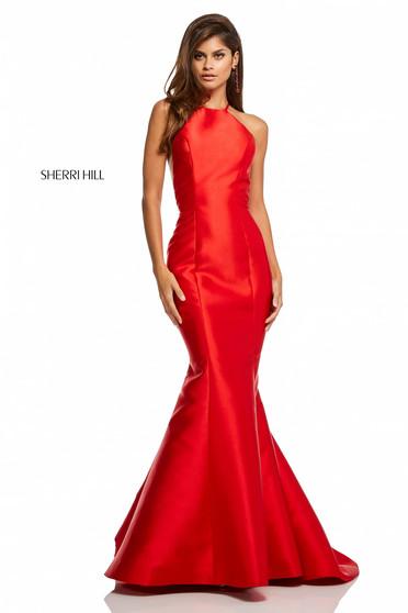 Rochie Sherri Hill 52575 Red