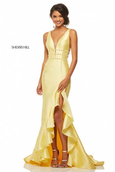 Rochie Sherri Hill 52576 Yellow