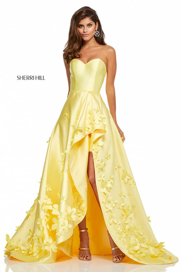 Rochie Sherri Hill 52581 Yellow
