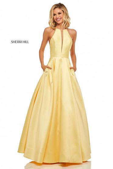 Rochie Sherri Hill 52583 Yellow
