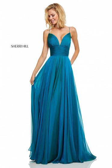 Rochie Sherri Hill 52590 Blue
