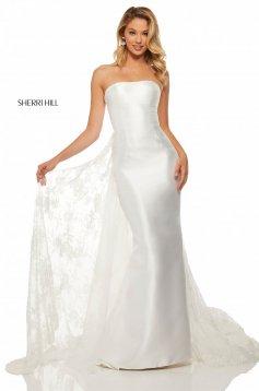 Rochie Sherri Hill 52594 White