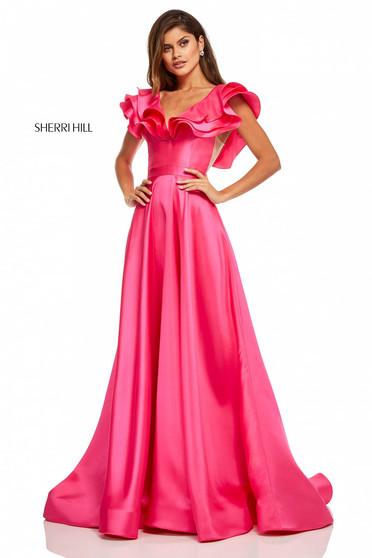 Rochie Sherri Hill 52595 Pink