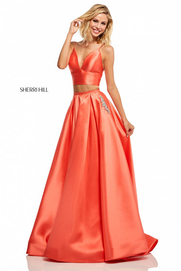 Rochie Sherri Hill 52598 Coral