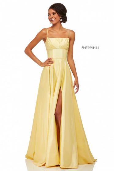 Rochie Sherri Hill 52602 Yellow