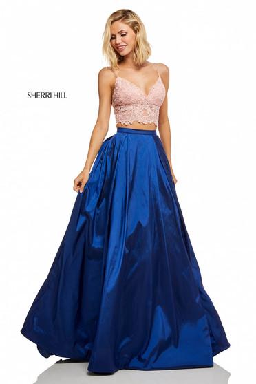 Rochie Sherri Hill 52604 Blue