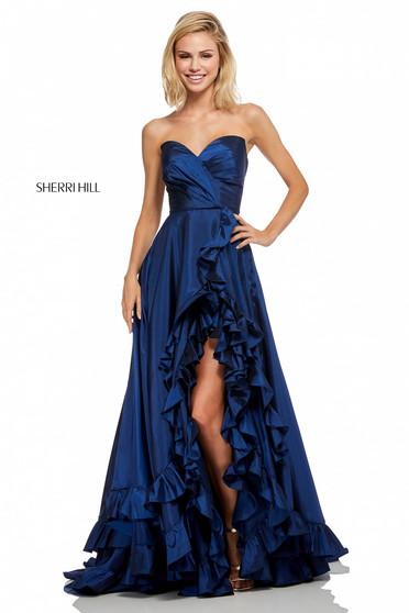 Rochie Sherri Hill 52605 Blue