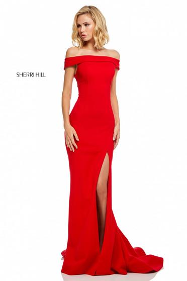 Rochie Sherri Hill 52607 Red
