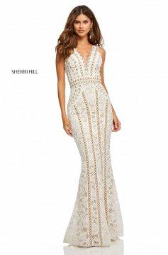 Rochie Sherri Hill 52611 White