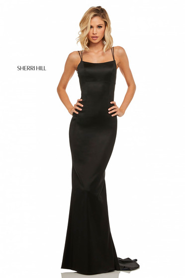 Rochie Sherri Hill 52613 Black