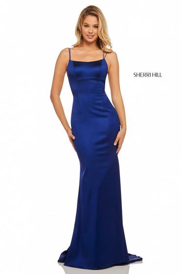 Rochie Sherri Hill 52613 Blue