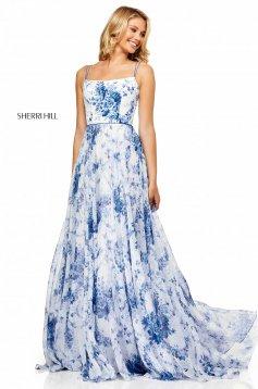 Rochie Sherri Hill 52621 White