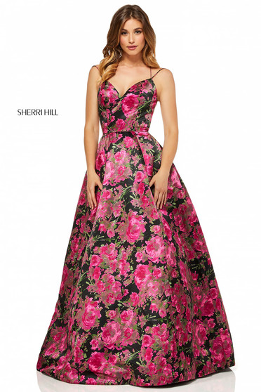 Rochie Sherri Hill 52627 Black