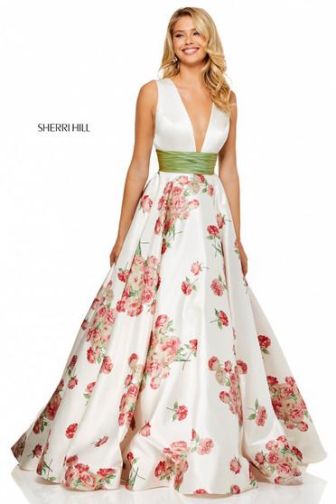 Rochie Sherri Hill 52632 White