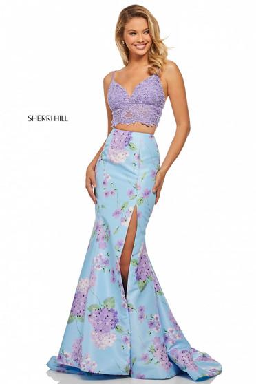 Rochie Sherri Hill 52635 Blue