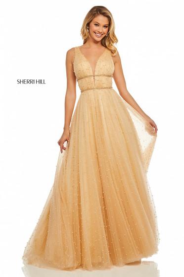 Rochie Sherri Hill 52640 Peach