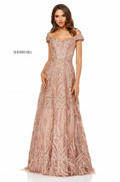 Rochie Sherri Hill 52650 Rosa