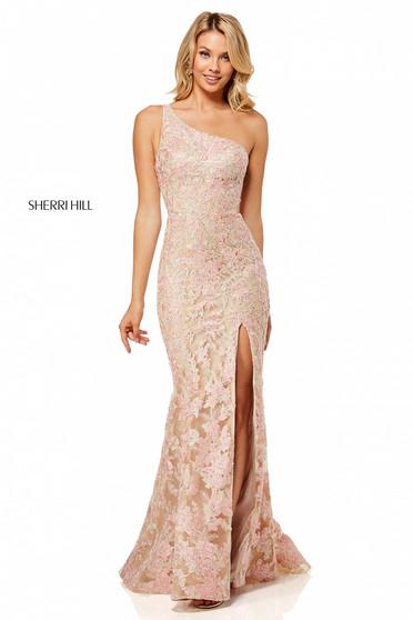Rochie Sherri Hill 52654 Nude