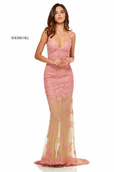 Rochie Sherri Hill 52655 Coral