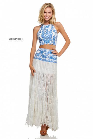 Rochie Sherri Hill 52671 Blue