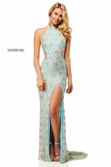 Rochie Sherri Hill 52683 Blue