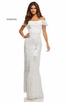 Rochie Sherri Hill 52688 White