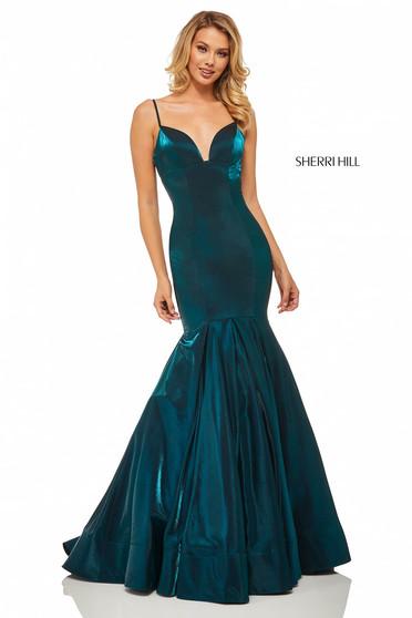 Rochie Sherri Hill 52696 Blue