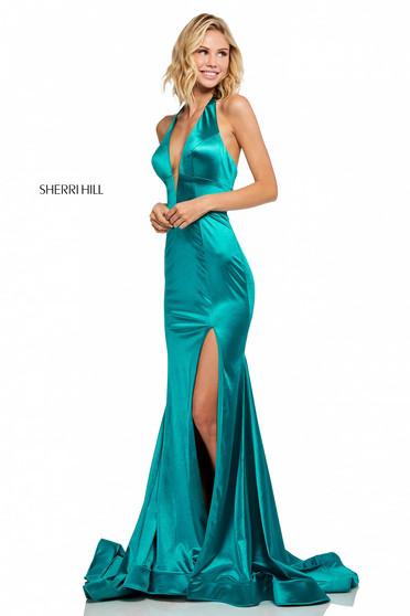 Rochie Sherri Hill 52702 Turquoise