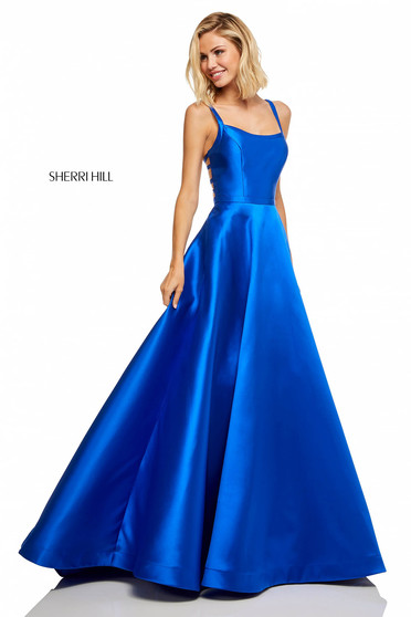 Rochie Sherri Hill 52715 Blue