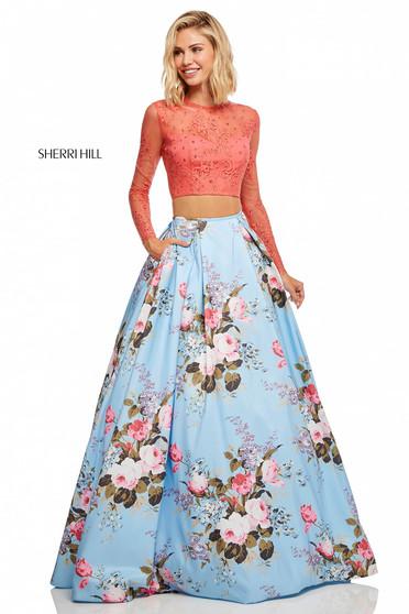 Rochie Sherri Hill 52717 Blue
