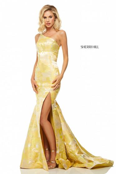Rochie Sherri Hill 52731 Yellow