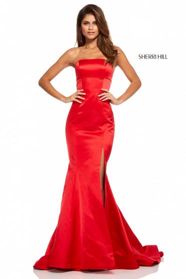Rochie Sherri Hill 52753 Red