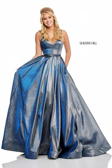 Rochie Sherri Hill 52755 Blue