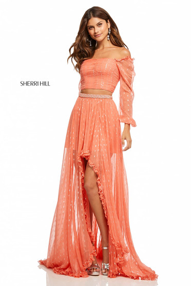 Rochie Sherri Hill 52756 Orange