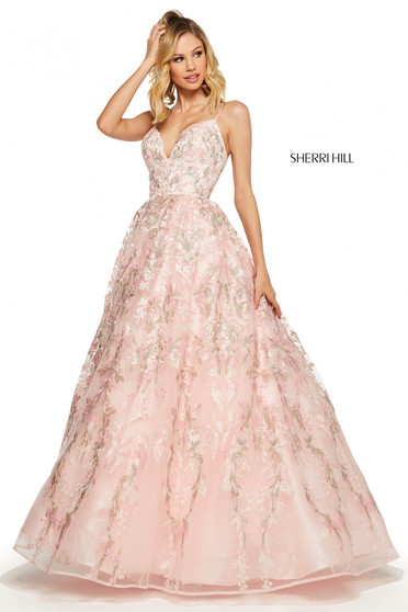 Rochie Sherri Hill 52759 Pink