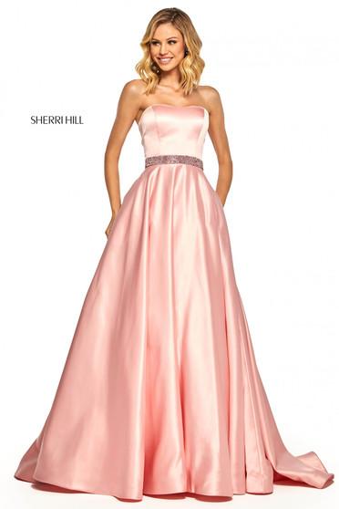 Rochie Sherri Hill 52776 Rosa